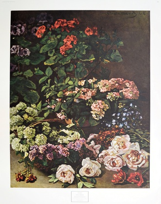 Claude Monet Fruehlingsblumen