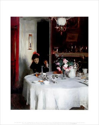 John Singer Sargent The Breakfast Table