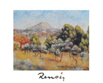 Pierre Auguste Renoir Il Mont Saint Victoire