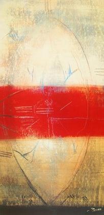 Carole Becam Lignes rouges I