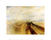 William Turner Rain, Steam and Speed, The Great Western Railway, 1844 (klein)