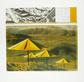 Christo The Umbrellas yellow