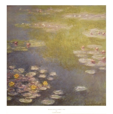 Claude Monet Waterlilies at Giverny