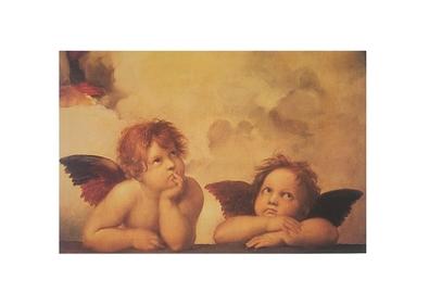 Raphael zwei Engel