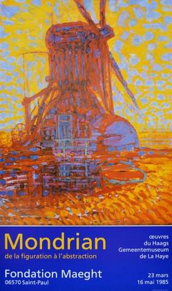 Piet Mondrian Moulin au Soleil  1908