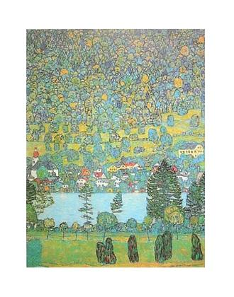 Gustav Klimt Unterach am Attersee