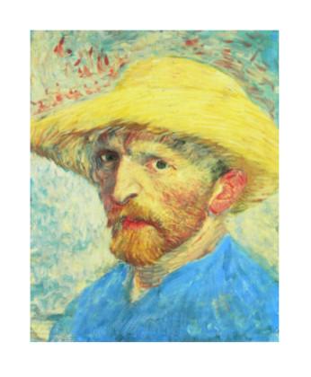 Vincent van Gogh Selbstportraet - van gogh