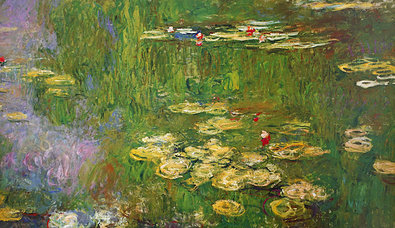 Claude Monet Nympheas (right panel)