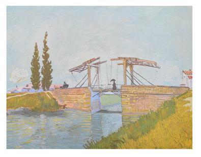 Vincent van Gogh Die Zugbruecke, 1888