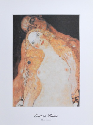Gustav Klimt Adam und Eva