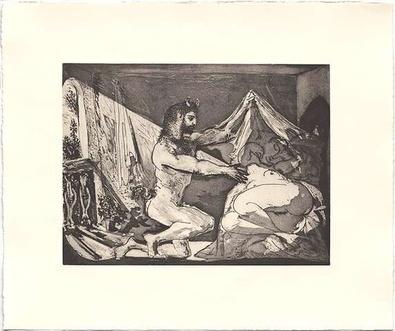 Pablo Picasso Faun unsigniert