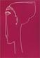 Amedeo Modigliani Testa die profilo, 1911