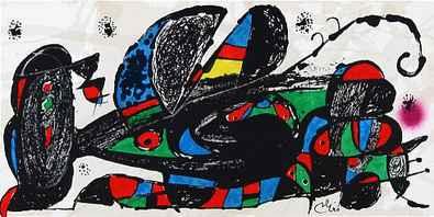 Joan Miro Escultor Iran steinsig.