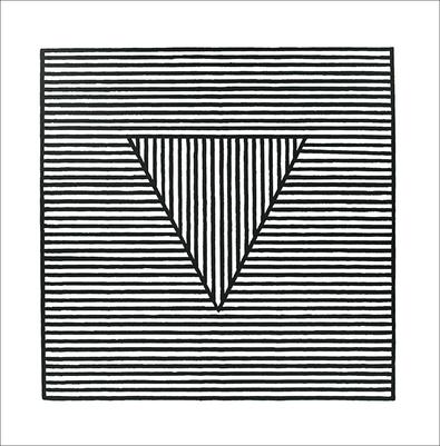 Sol Lewitt Triangle, 1980