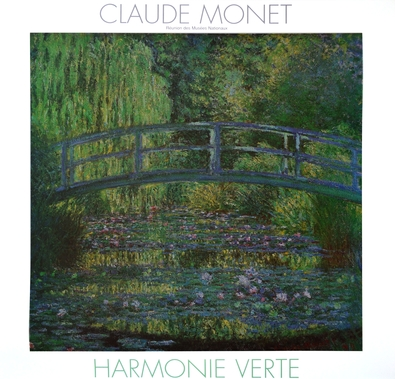 Monet claude harmonie verte large