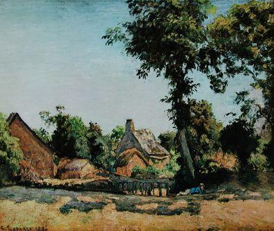 Camille Pissarro Landschaft