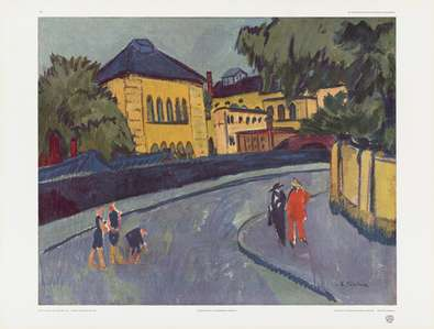 Ernst Ludwig Kirchner Dresden (Friedrichstadt 1909)