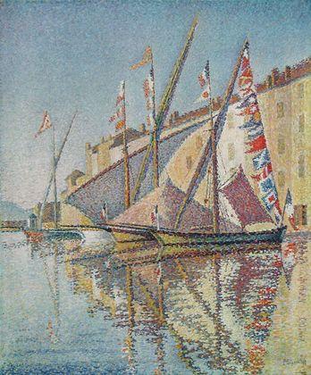 Paul Signac Hafen von St Tropez