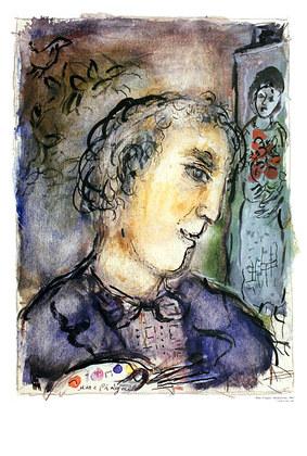 Marc Chagall Autoportrait