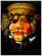 Giuseppe Arcimboldo Reversibles Portrait aus Fruechten (klein)