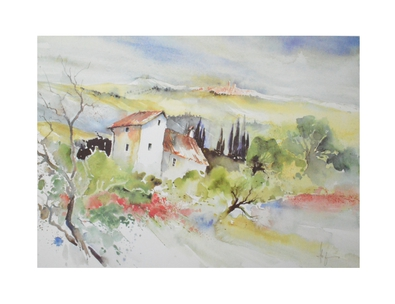 E. Hofmann Toscana bei Sarteano II