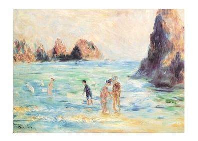 Pierre Auguste Renoir Bucht Guernesey