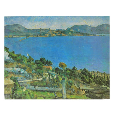 Paul Cezanne Das Meer bei L'Estaque