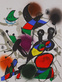 Joan Miro Litografia original II
