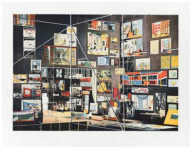 Thomas Huber Das Kabinett der Bilder (2 Blatt)