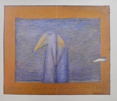 Peter-T Schulz Storchenliebe Beige (Perlmutt)