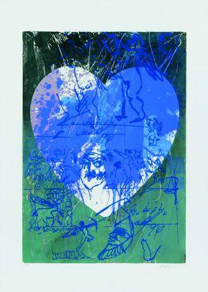 Hassan Hashemi Blaues Herz