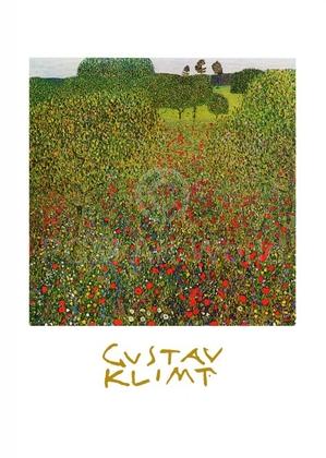 Gustav Klimt Mohnwiese