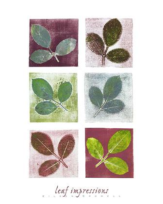 Eileen Crowell Leaf Impressions