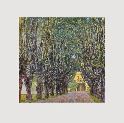 Gustav Klimt Allee im Park K 11