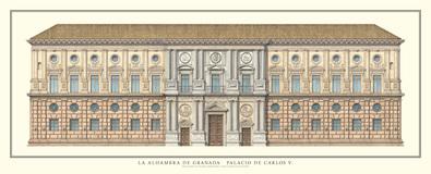 Pedro Machua Alhambra, Palacio Carlo V.
