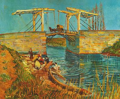 Vincent van Gogh Ponte levatoio ad Arles