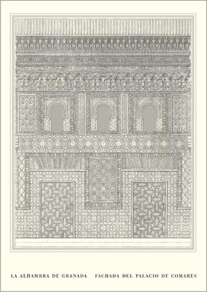 Goury jones alhambra palacio de comares large