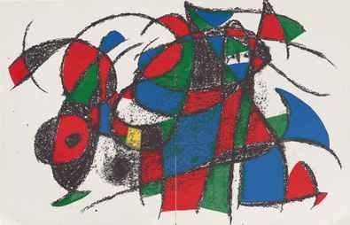 Joan Miro Volume 2 Blatt 3 4 unsigniert