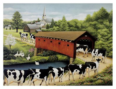 Lowell Herrero Cows in West Arlington