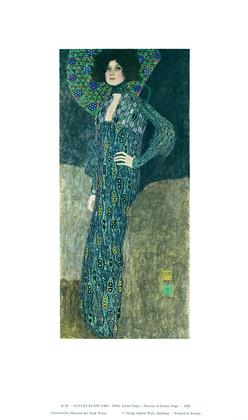 Gustav Klimt Emilie Floege, 1902 (K 29)