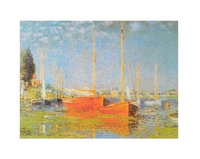 Claude Monet Boote bei Argenteuil