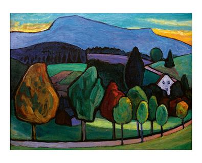 Gabriele Muenter Der blaue Berg, 1952