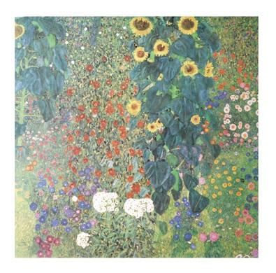 Gustav Klimt Bauerngarten und Sonnenblumen
