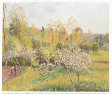 Camille Pissarro Pommiers en Fleurs