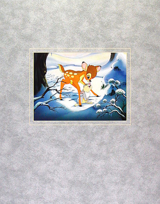 Walt Disney (Bambi) Bambi's Winter Trail