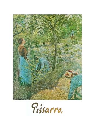 Camille Pissarro Die Apfelernte
