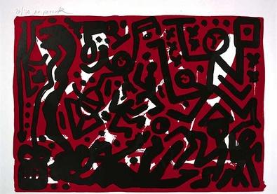 A.R. Penck Lausanne 2 Aber Hallo