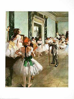 Edgar Degas Tanzklasse