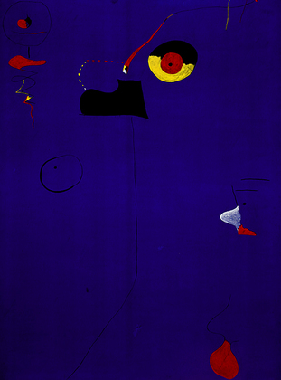 Joan Miro Painting Fratellini