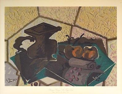 Georges Braque Le tapis vert
